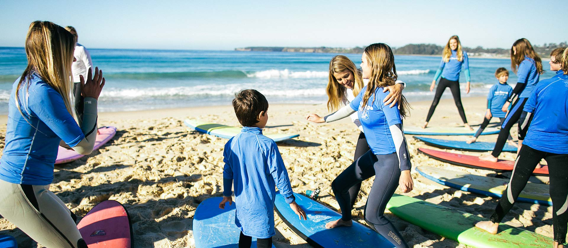 Pam Burridge Surf Schools, NSW South Coast