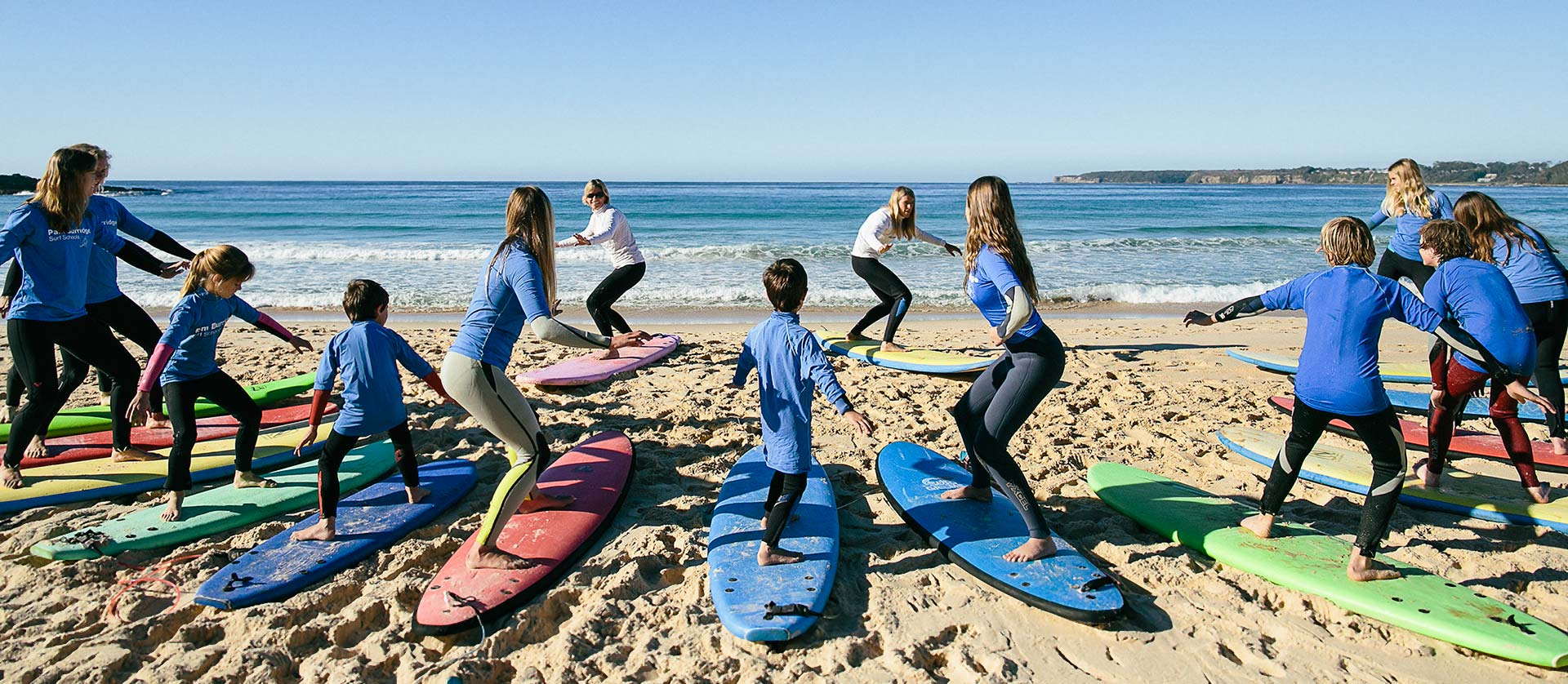 Surfing Lessons in Mollymook