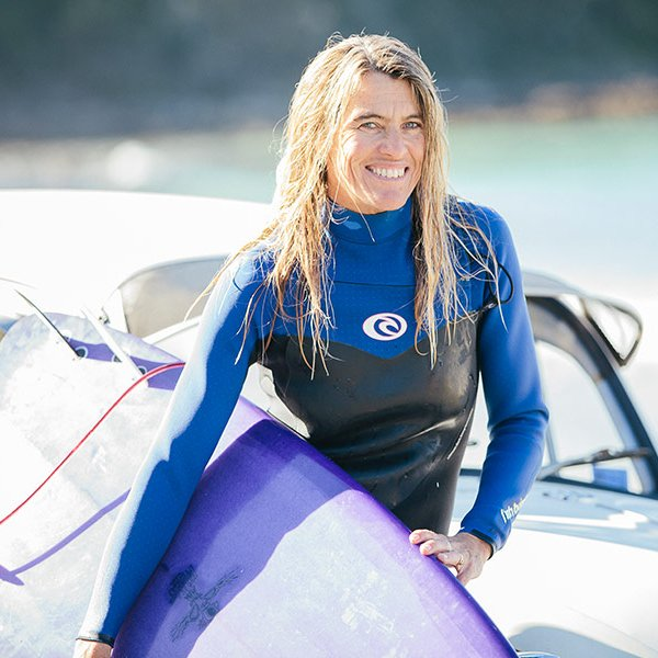 Surfing legend, Pam Burridge