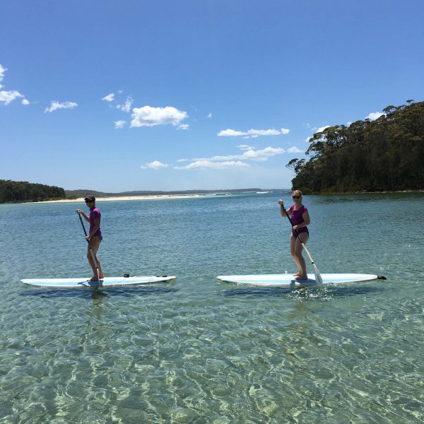 sup on Narrawallee Inlet